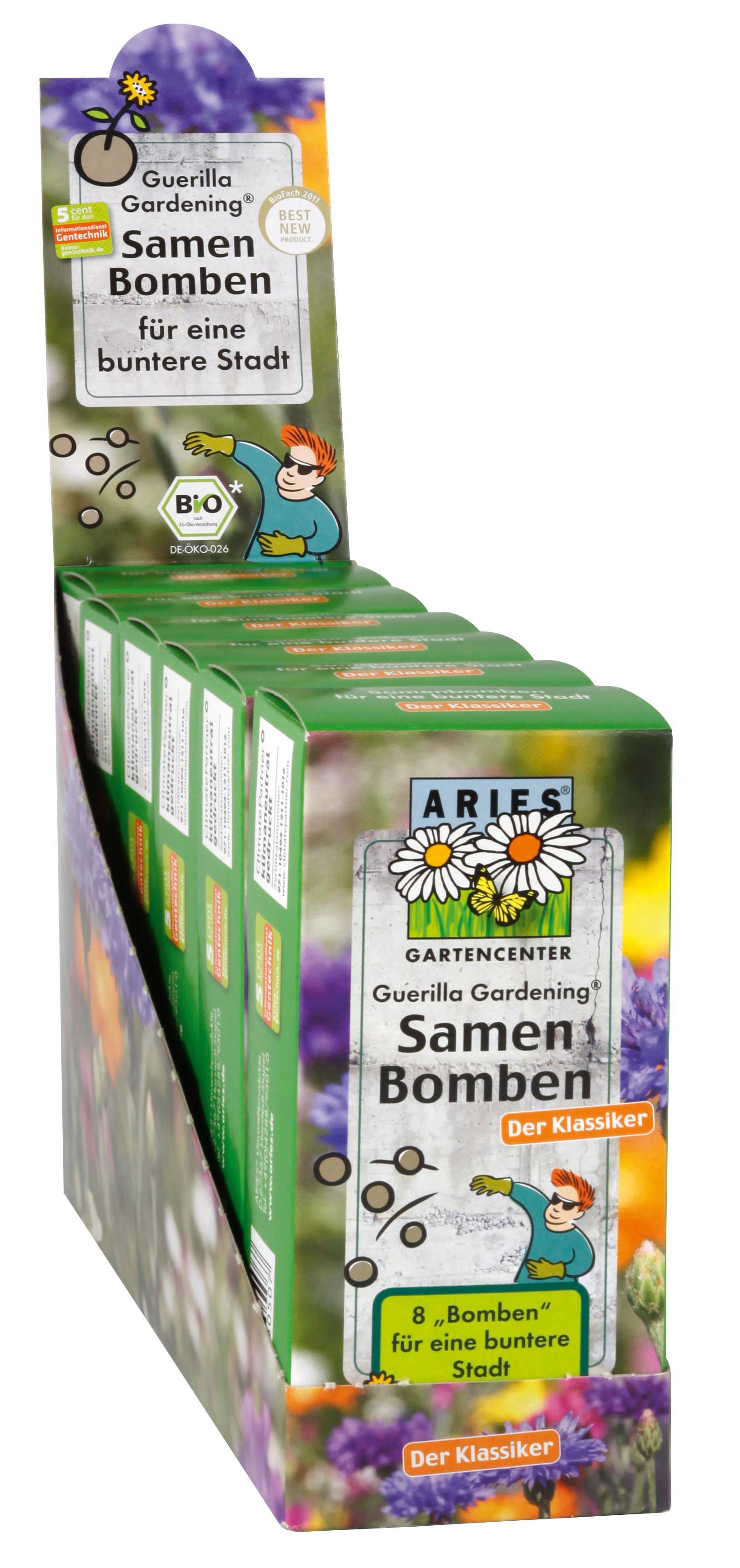 Bio seedbombs 8 stuks